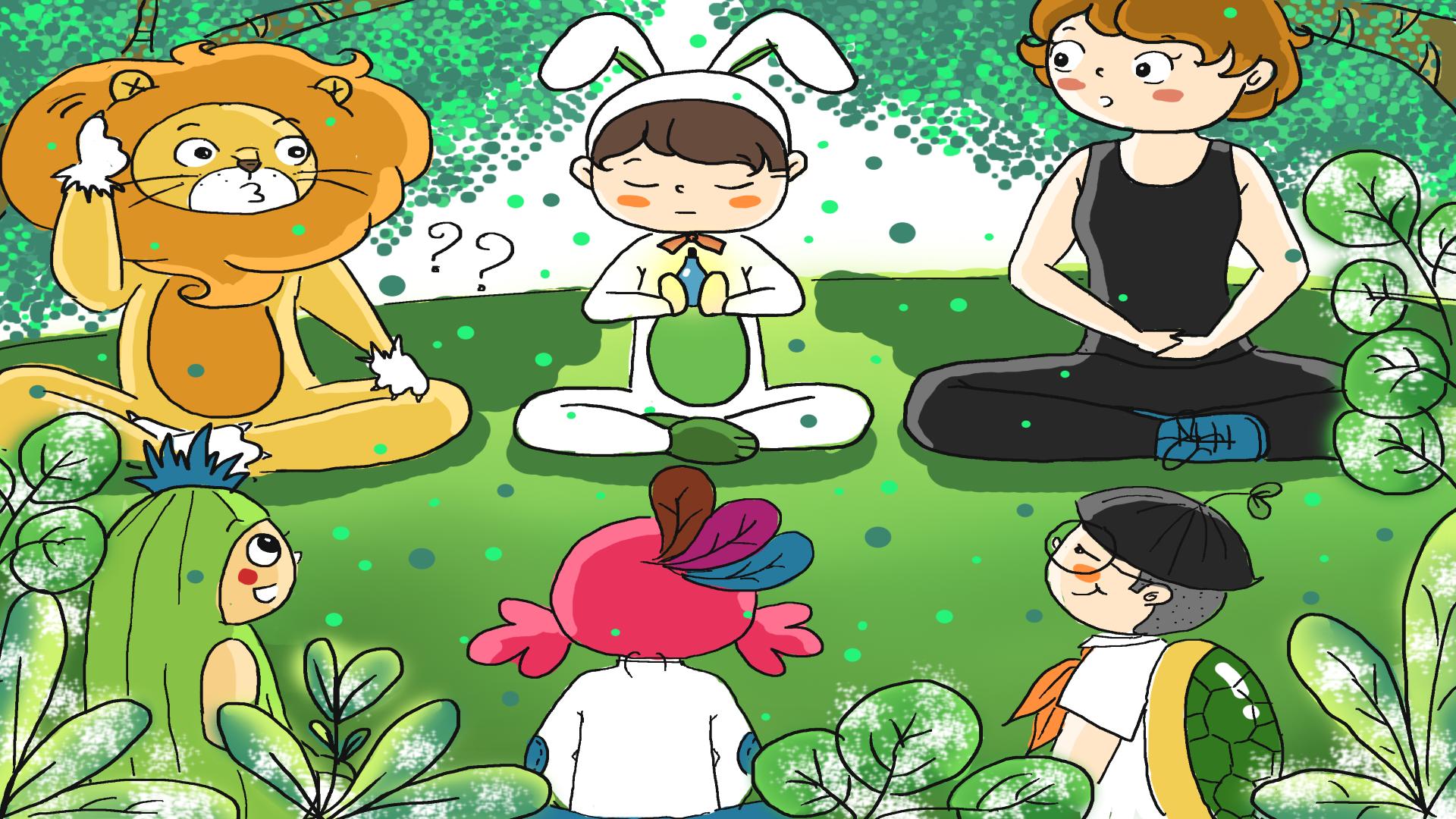 """Du nhập """"hành tinh Yoga"""" lắng nghe những câu chuyện thú vị"""